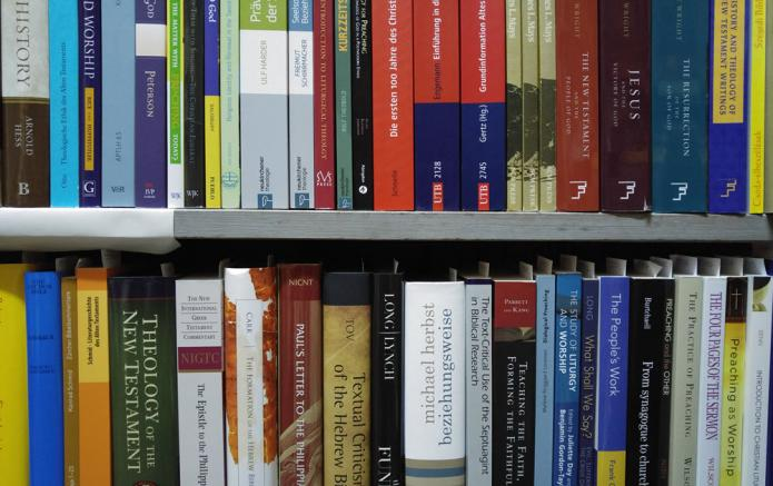 A New Aqcuisition Of Important Theological Books